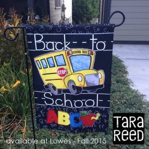 Back to School Flag - Tara Reed - Fall 2015