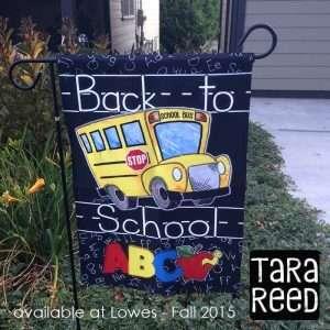 Back to School Flag - Tara Reed - Fall 2015
