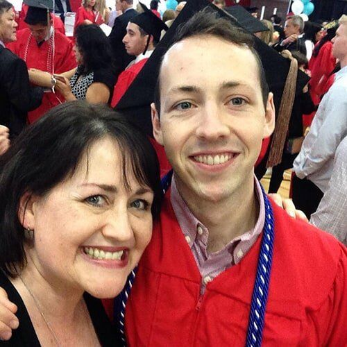 Tara Reed and Kyle Cowper - Boston University Graduation
