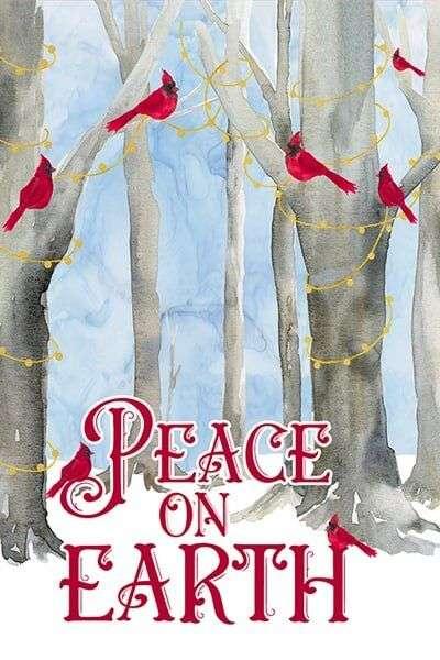 Christmas Chickadee wreath image by Tara Reed Designs