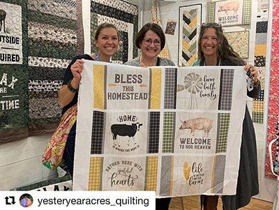 Homestead Life Fabric Panel by Tara Reed Designs