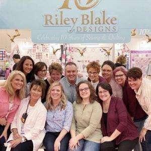 Riley Blake Designs team - Houston Quilt Market 2019