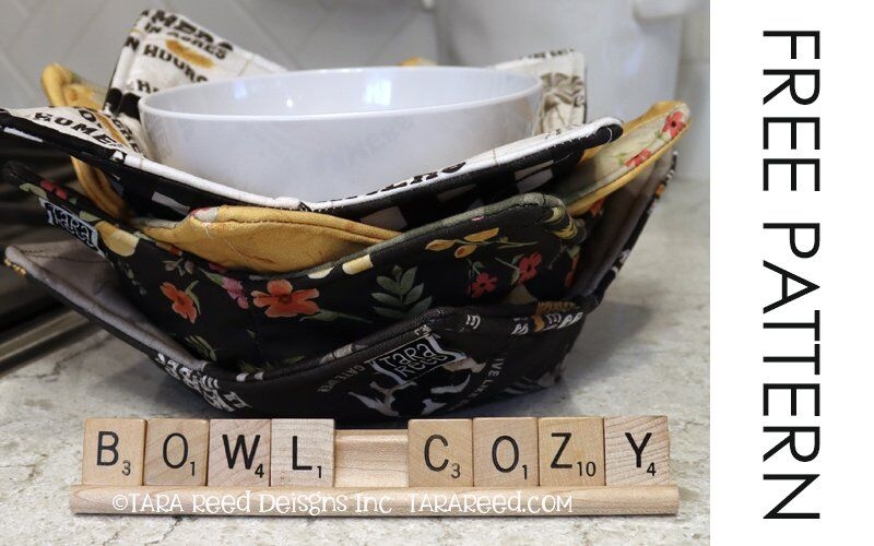 FREE PATTERN – How to Make a Bowl Cozy