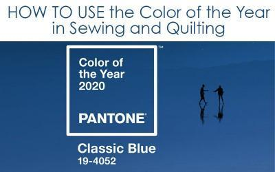 COLOR TRENDS: 2020 Color of the Year: Classic Blue