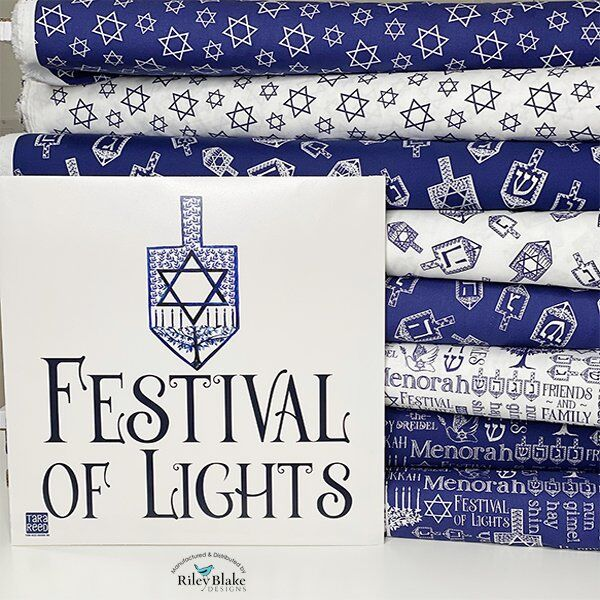 Festival of Lights Fabric by Tara Reed for Riley Blake Designs