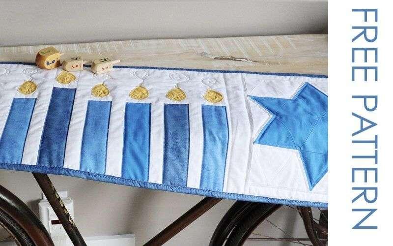 Hanukkah Table Runner FREE PATTERN