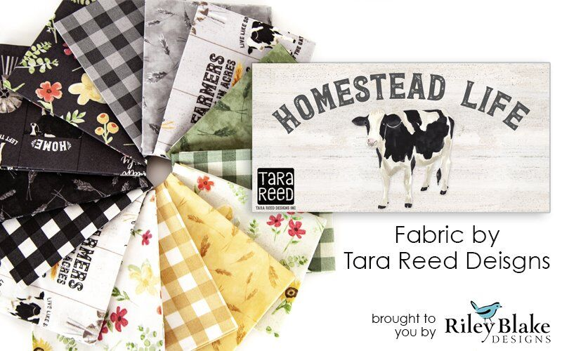 Homestead Life fabric by Tara Reed Designs