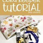 Quick & Easy Cord Keeper tutorial