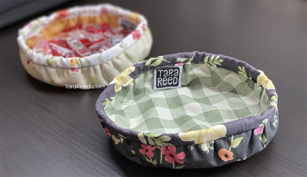 Shallow Fabric bowls