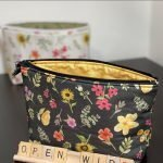 Open Wide Zipper Bag tutorial