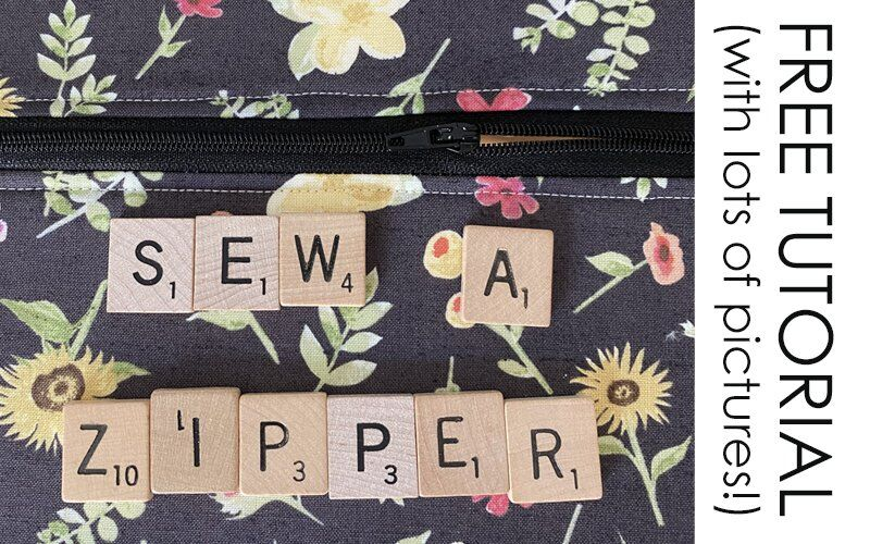TUTORIAL: How to Sew a Zipper
