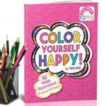Color Yourself Happy Coloring Book by Tara Reed