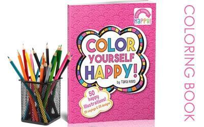 Color Yourself Happy Coloring Book & Free Coloring Pages