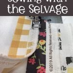 How to make Selvage Fabric - free tutorial