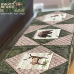 Send Me To the Woods Table Runner by Tara Reed