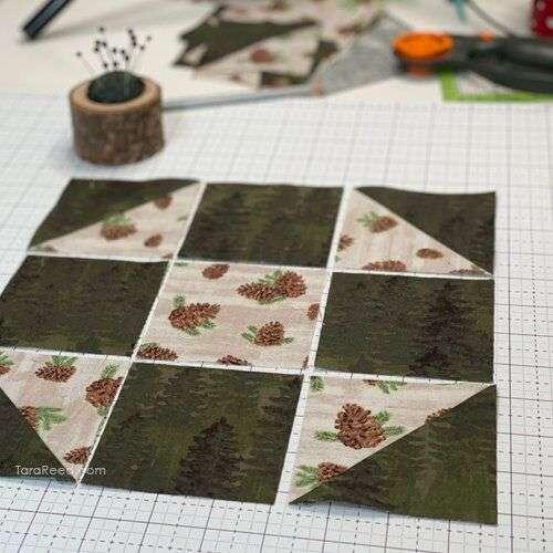 Shoofly Quilt Block Tutorial by Tara Reed