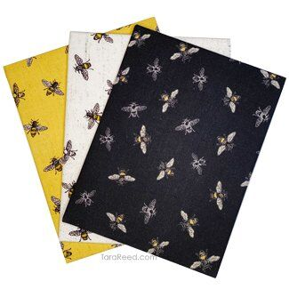 Bees Life Bee Toss Fabric by Tara Reed