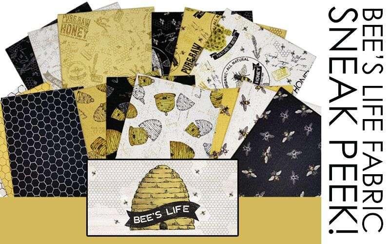Bee's Life Fabric – Sneak Peek!