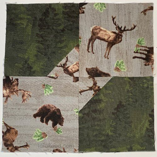 Free Bow Tie Quilt Block Tutorial by Tara Reed