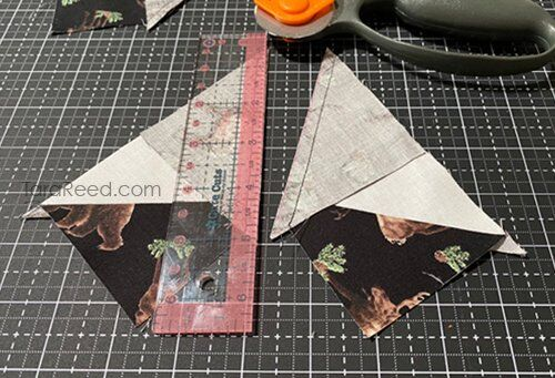 Flying Geese tutorial by Tara Reed
