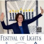 Festival of Lights Hanukkah Fabric by Tara Reed for Riley Blake