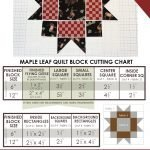 QUILT BLOCK TUTORIAL: Maple Star Block