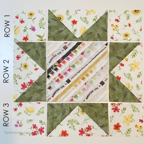 Sawtooth Star Quilt Block Tutorial by Tara Reed