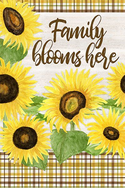 Fall Sunflowers art by Tara Reed