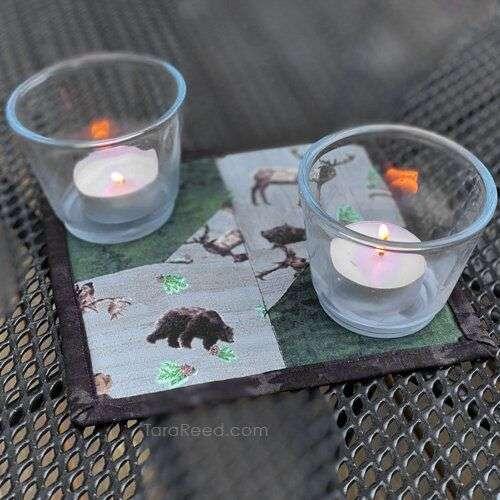 Candle Mat by Tara Reed