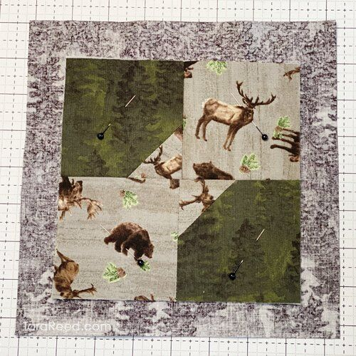 How to Self Bind a Small Quilt by Tara Reed