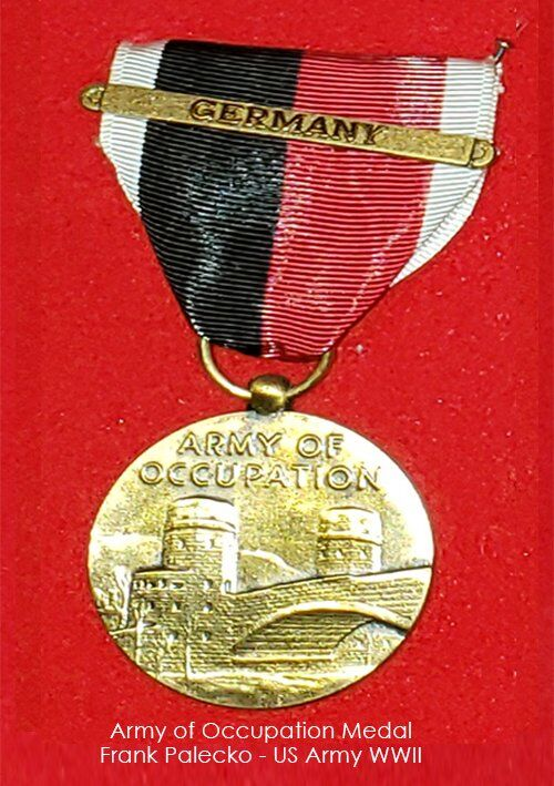 Frank Palecko - Army of Occupation Medal