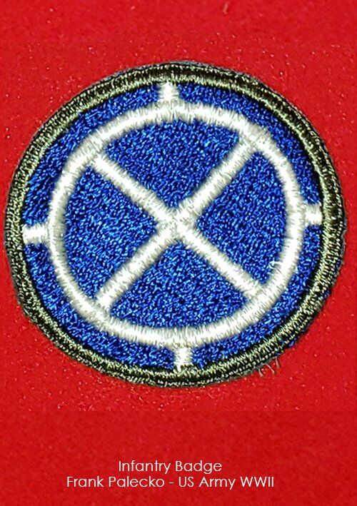 Frank Palecko - Infantry Badge