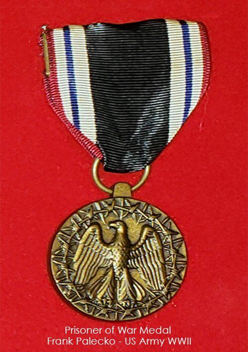 Frank Palecko - Prisoner of War Medal