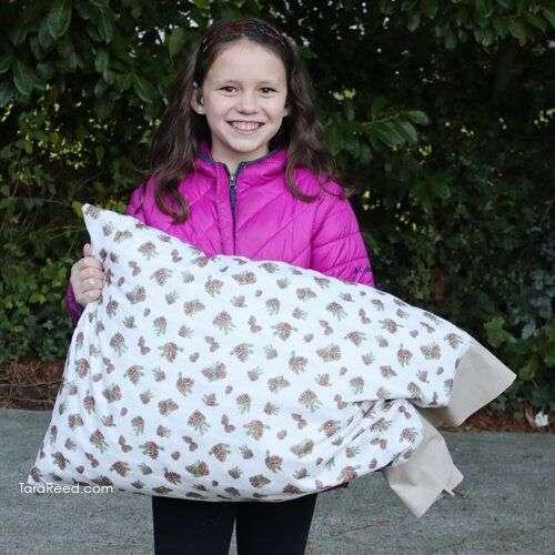 Pillow Case - Gillian holding