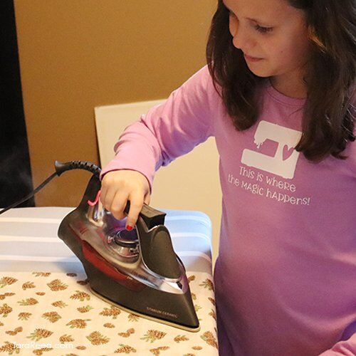 Pillow Case - Gillian ironing