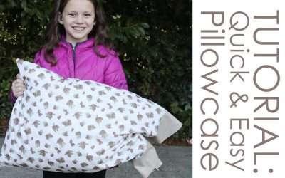 TUTORIAL: How to make a Pillowcase – Quick & Easy Burrito Method
