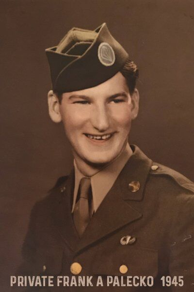 Private Frank A Palecko - US Army - 1945 Paratrooper on D-Day