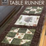 Chenille and Shoofly Quilt Block Table Runner