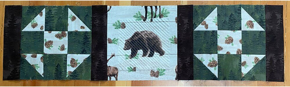 FREE TUTORIAL: Chenille and Shoofly Quilt Block Table Runner