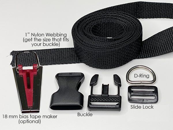 Dog Collar on Nylon supplies