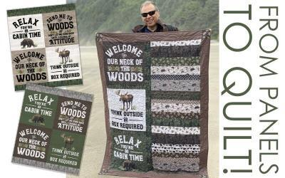 Make a Quick Quilt for Outdoor Adventures!