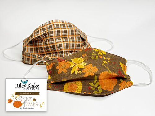 Give Thanks fabric by Sandy Gervais for Riley Blake Designs