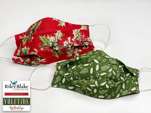 Yuletide fabric by My Mind's Eye for Riley Blake Designs