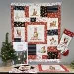 Gnome Christmas Flannel Fabric - Sneak Peek from Tara Reed