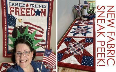 Let Freedom Soar fabric collection – sneak peek!