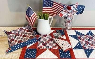 Let Freedom Soar fabric collection – sneak peek!