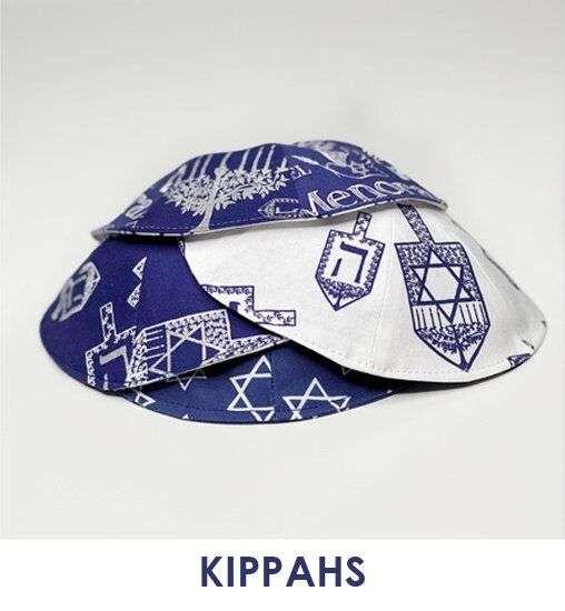 Sew for Hanukkah - slideshow - kippahs