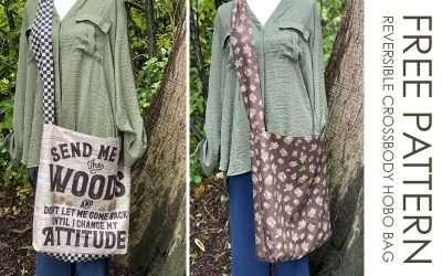 How to Make a Quick & Easy Reversible Crossbody Hobo Bag
