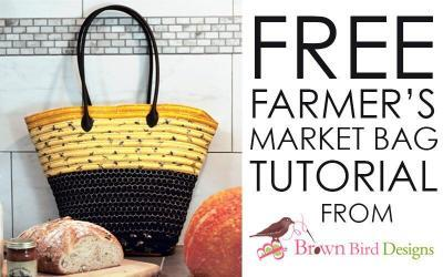 Bee's Life Fabric – The Farmers Market bag – DIY
