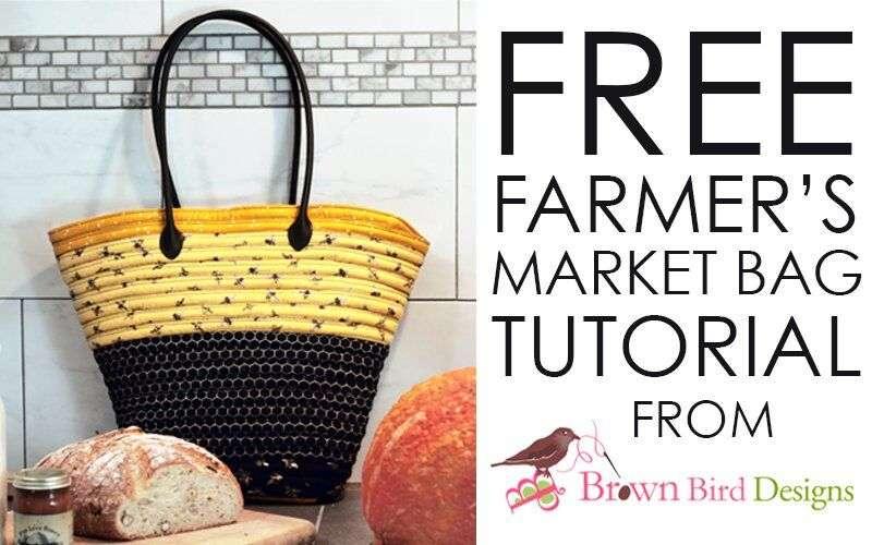 Bee's Life Fabric – The Farmers Market bag – DIY